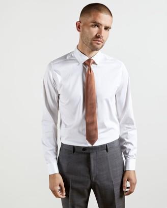 Ted Baker Plain Cotton Shirt