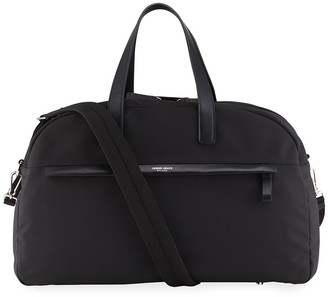 Giorgio Armani Men's Waterproof Nylon/Leather Duffel Bag
