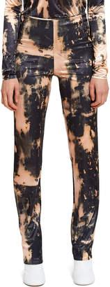 Acne Studios Essy Synthetic Print Trouser