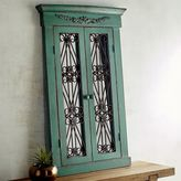 Pier 1 Imports Merville Teal Window Mirror