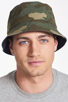 Camo/navy Reversible Bucket Hat