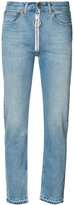 Off-White cropped jeans - women - Cotton - 28