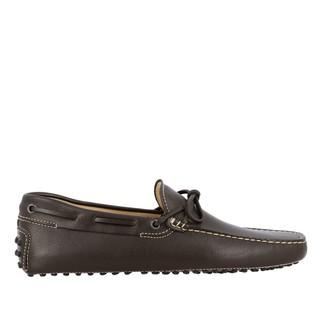 Tod's Gommini Moccasin In Leather With Laces