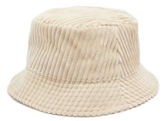 Isabel Marant Haley Corduroy Bucket Hat - Beige
