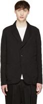 Attachment Black Pinstripe Blazer
