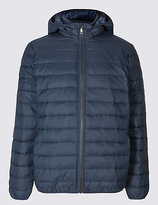 M&S Collection Lightweight Hooded Jacket with StormwearTM