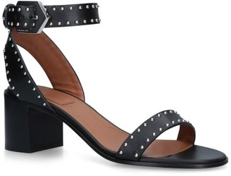 Givenchy Leather Studded Sandals