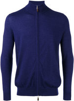 N.Peal zip up cardigan - men - Silk/Cashmere - M