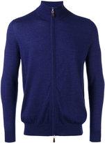 N.Peal zip up cardigan - men - Silk/Cashmere - S