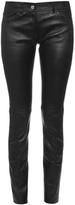 Balenciaga Skinny-leg leather trousers