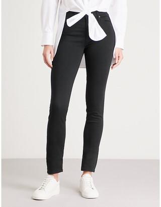 AG Jeans Ladies Black Prima Cigarette Mid Rise Jeans, Size: 23