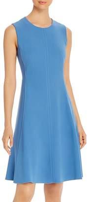 T Tahari Sleeveless A-Line Dress