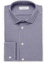 Richard James Slim-Fit Houndstooth Cotton Shirt