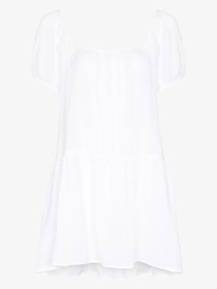 HONORINE White Elodie Mini Dress