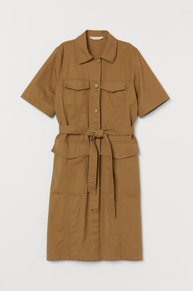 H&M Pima cotton utility dress