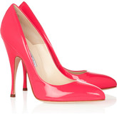 Starlet neon patent-leather pumps