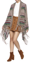 Umgee USA Stripe Fringe Sweater