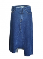 Aries Holmes Skirt in Plain Dark Denim - Last one
