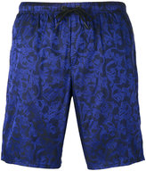 Versace Baroque embroidered swimming shorts - men - Polyamide/Polyester - 4