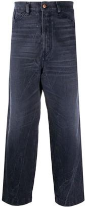Diesel Carrot D-Franky loose straight-leg jeans