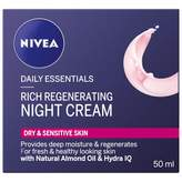 Nivea Daily Essentials Rich Regenerating Night Cream 50 mL