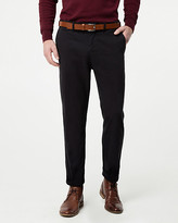Le Château Brushed Cotton Twill Slim Leg Pant