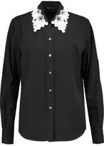 Marc by Marc Jacobs Appliquéd Cotton Shirt