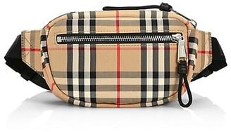Burberry Small Nylon Vintage Check Belt Bag