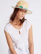 Marks and Spencer Havana Print Fedora Hat