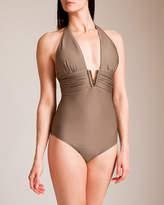 Heidi Klein Manda Island V-Bar Swimsuit