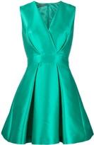 Alberta Ferretti flared mini dress