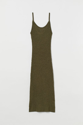 H&M Fitted Knit Dress