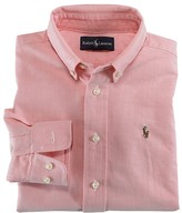 Ralph Lauren Boys' Solid Oxford Shirt - Little Kid