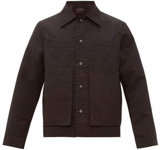 Craig Green Crepe Worker Jacket - Mens - Black