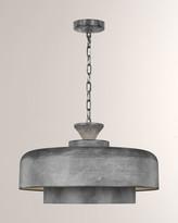 ED Ellen Degeneres Haymarket Galvanized 1-Light Pendant