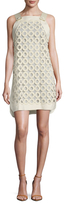 Max Mara Gineceo Eyelet Shift Dress
