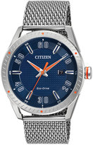 Citizen Men's Drive Stainless Steel Mesh Bracelet Watch 42mm BM6990-55L