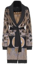 Etro Printed mohair-blend cardigan