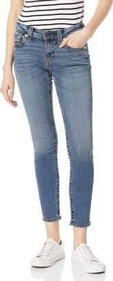 True Religion Women's Jennie Big T Mid Rise Curvy Skinny fit Jean