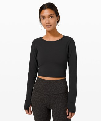 Lululemon Ever Elated Cropped Long Sleeve *Nulu