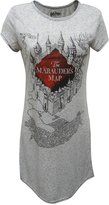 Briefly Stated Harry Potter's Mauauders Map Mischief Managed Nightshirt for women