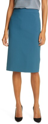 HUGO BOSS Vinoa Ponte Pencil Skirt