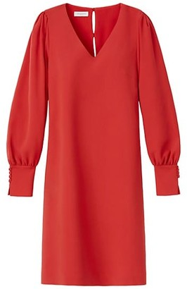 Lafayette 148 New York Lenore Puff-Sleeve Shift Dress