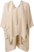 P.A.R.O.S.H. draped jacket - women - Silk - S