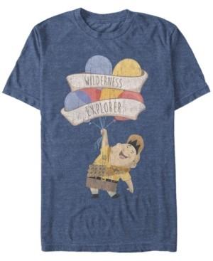 Disney Men's Up Russell Wilderness Explorer, Short Sleeve T-Shirt