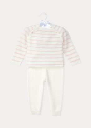 Ralph Lauren Cashmere Top & Pant Set