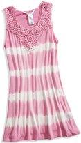 GUESS Tie Dye Lace-Yoke Dress (7-16)