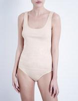 Hanro Seamless cotton vest top