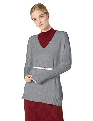 French Connection Women's Babysoft Long Sleeve Soft Solid Pullover Sweater