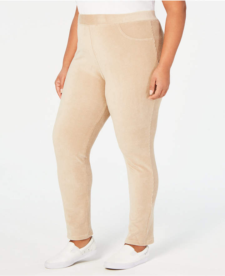 Home for the Holidays Plus Size Corduroy Leggings